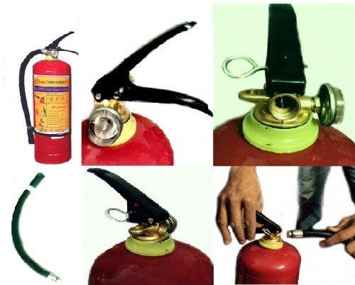 Cấu tạo của bình bột chữa cháy Hà Nội