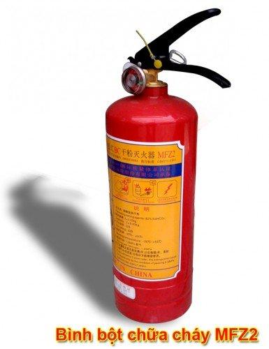 Bình bột chữa cháy MFZ2