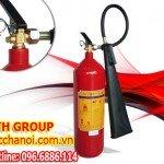 Bình phòng cháy chữa cháy khí MT5 CO2 5 kg