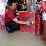 Hộp cứu hỏa trong nhà