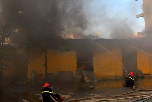 Xem cách chữa cháy khi có các đám cháy xảy ra