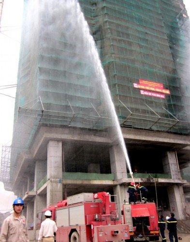 Hiệu quả của dòng xe cứu hỏa Isuzu mang lại cho các đám cháy