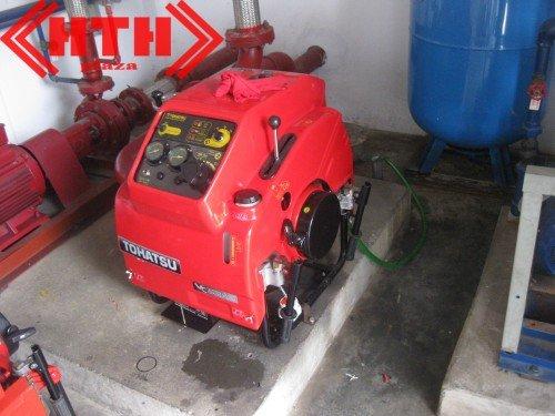 Dự án lắp đặt bơm chữa cháy Tohatsu cho công ty TNHH Minh Tiến