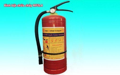 Bình bột chữa cháy MFZL4