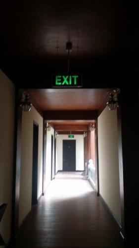 Hệ thống báo cháy được lắp đặt cho khách sạn Bái Đính