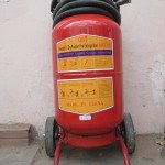 Bình bột chữa cháy MFTZ35 dạng xe đẩy