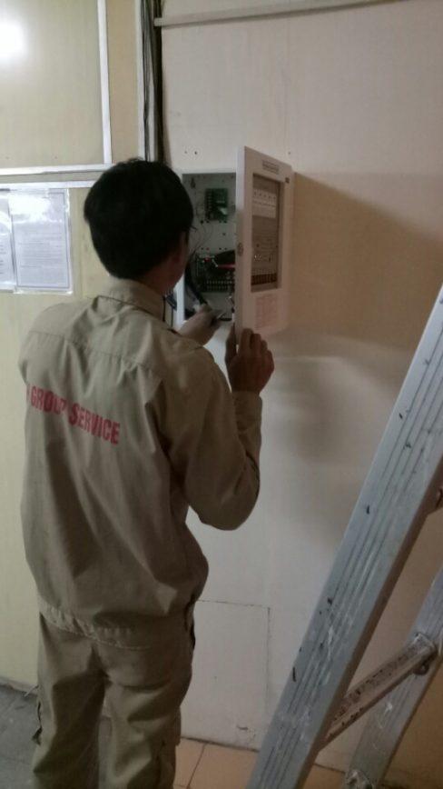 Kiểm tra bảo dưỡng chuông đèn nút ấn báo cháy Hochiki