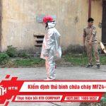 Kiểm định thử bình chữa cháy MFZ4-BC