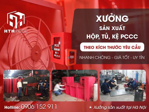 Xưởng sản xuất hộp, tủ, kệ phòng cháy chữa cháy tại Hà Nội